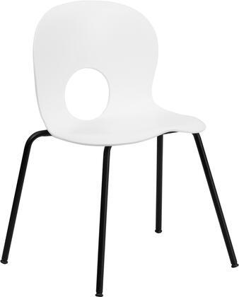 Flash Furniture Hercules RUTNC258WHITEGG Classroom Chair White, Main Image