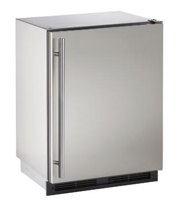 U-Line Outdoor UORE124SS01A Compact Refrigerator Stainless Steel, Main Image