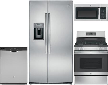 GE 683720 Kitchen Appliance Package & Bundle Stainless Steel, main image