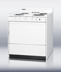 Summit  WEM2171Q Freestanding Electric Range White, 1