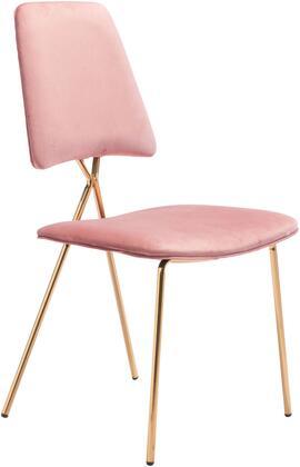 101462 Chloe Chair Pink  (Set of