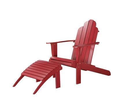Linon 21150RED01KDU Patio Chair, DL d86b5a54c04e8169c99bb85d1f00