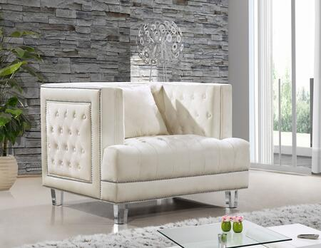 Meridian Lucas 609CREAMC Living Room Chair Beige, Main Image