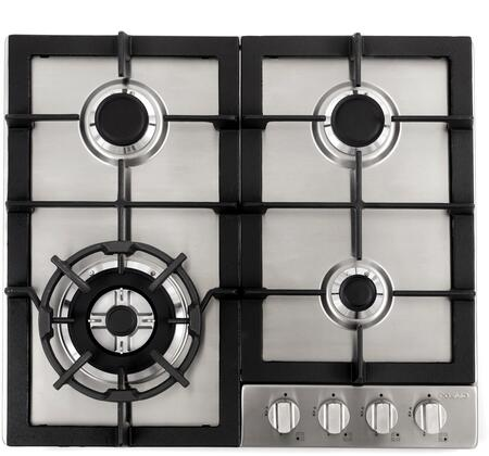 Cosmo  COS640STXE Gas Cooktop Stainless Steel, COS640STXE Gas Cooktop