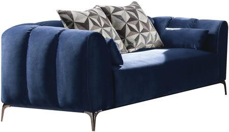 Acme Furniture Hellebore 50436 Loveseat Blue, Loveseat