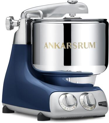 AKM6230OB Ankarsrum Original Mixer with 7 Liter Stainless Steel Bowl  3.5 L Double Whisk Bowl  Dough Hook  Roller  Scraper  Spatula  Dust Cover