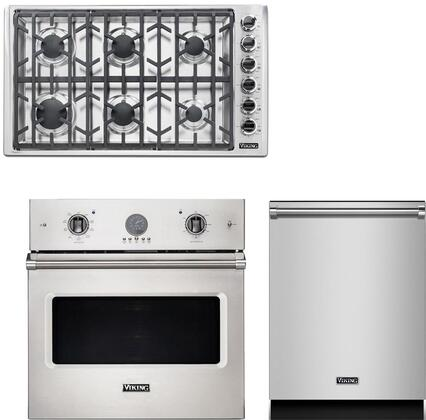 Viking  943540 Kitchen Appliance Package Stainless Steel, main image