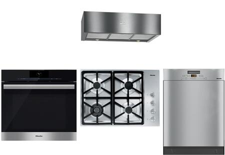 Miele 888406 Kitchen Appliance Package & Bundle Stainless Steel, main image