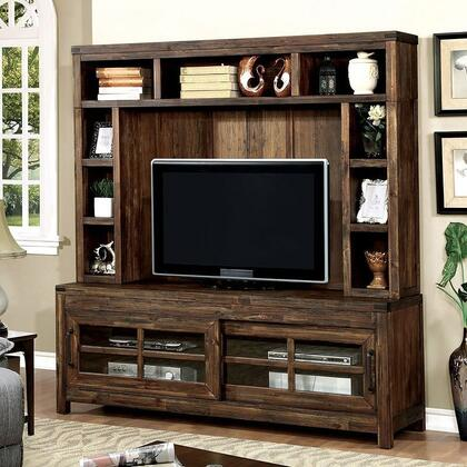 Furniture of America Hopkins CM5233TVSET Entertainment Center , CM5233 TV H 1