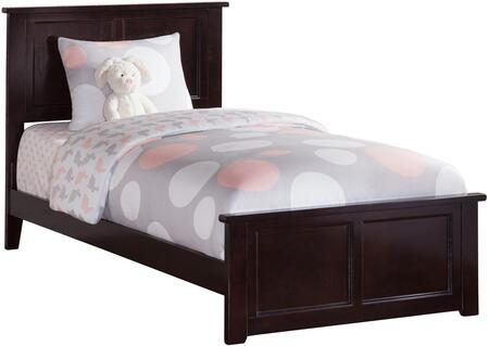 Atlantic Furniture Madison AR8616031 Bed Brown, AR8616031
