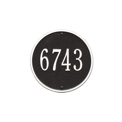 Whitehall Products 1033BW Address Plaques, Main Image