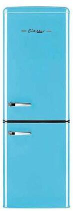Unique  UGP215LRBAC Bottom Freezer Refrigerator Blue, UGP215LRBAC Bottom Freezer Refrigerator