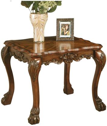 Acme Furniture Dresden 12166 End Table Brown, End Table