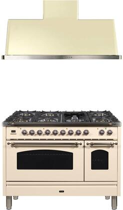 Ilve  1311361 Kitchen Appliance Package Bisque, Main Image
