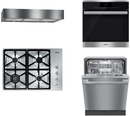 Miele 888407 Kitchen Appliance Package & Bundle Stainless Steel, 888407