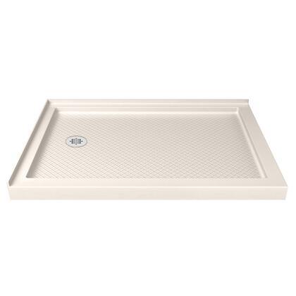 DLT-1036541-22 SlimLine 36″ D x 54″ W x 2 3/4″ H Left Drain Double Threshold Shower Base in