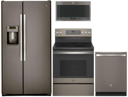 GE 1088788 Kitchen Appliance Package & Bundle Slate, Main image