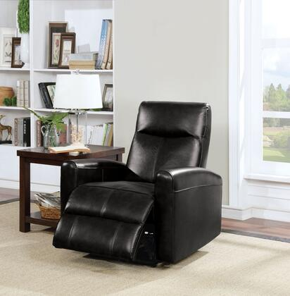 Acme Furniture Blane 59686 Recliner Chair Black, Recliner