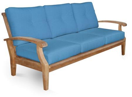 Douglas Nance Cayman DN2203COLOR Outdoor Patio Sofa Multi Colored, 1