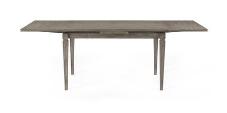 Bassett Mirror Bellamy 1153DR622EC Dining Room Table Gray, 1153 DR 622EC