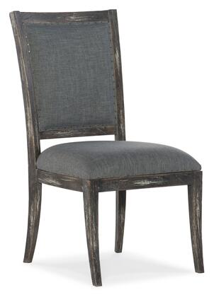 Hooker Furniture Beaumont 57517541089 Dining Room Chair Gray, Silo Image