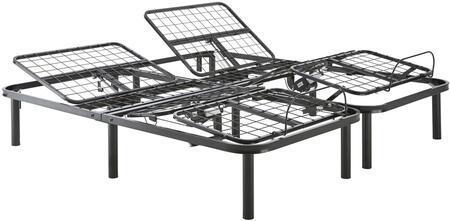 Dream Support DSMBASIC2TXL Adjustable Bed Frames Black, Main Image