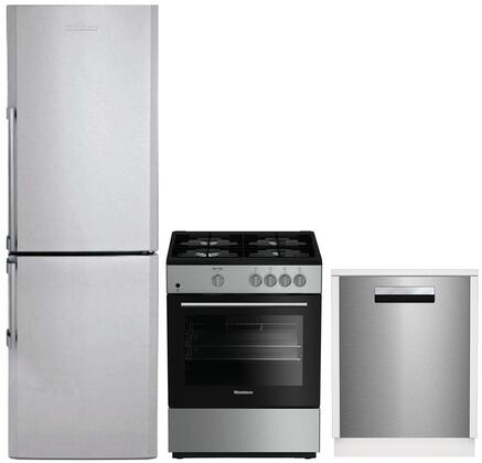 Blomberg  1051299 Kitchen Appliance Package Stainless Steel, Main image