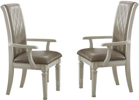 Acme Furniture Florissa 62093 Dining Room Chair Gray, 1