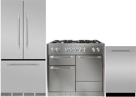 AGA  880624 Kitchen Appliance Package Stainless Steel, 1