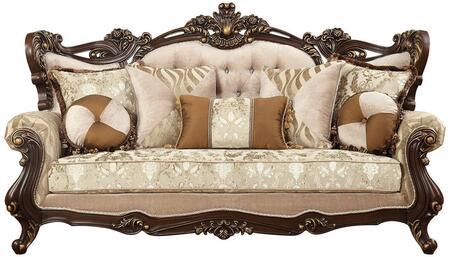 Acme Furniture Shalisa 51050 Stationary Sofa Beige, Sofa