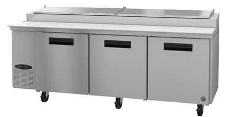 Hoshizaki Steelheart PR93A Prep Refrigerator Stainless Steel, PR93A Angled View