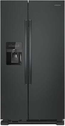 Amana ASI2175GRB Side-By-Side Refrigerator Black, Main Image