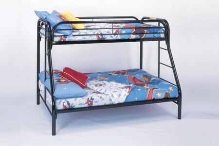 Monarch  I2231K Bed Black, Image 1