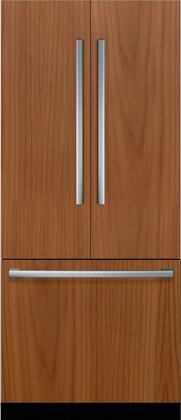 Bosch Benchmark Benchmark B36IT900NP French Door Refrigerator Panel Ready, Front View