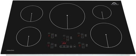 FCTIN0539-36 36″ Bezozzo Induction Cooktop with 5 Elements  Touch Control  Automatic Safety Switch Off and Residual Heat Indicator in