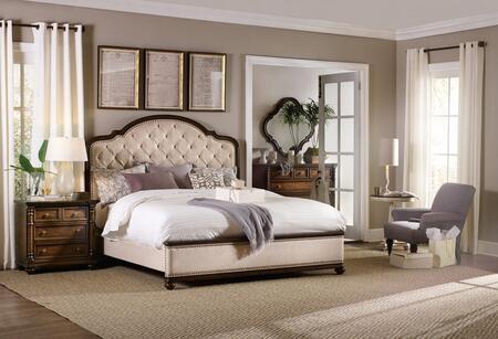 Hooker Furniture Leesburg 538190850BEDROOMSET Bedroom Set Beige, Main View