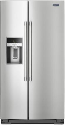 Maytag  MSC21C6MFZ Side-By-Side Refrigerator Stainless Steel, Main Image