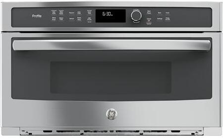 GE Profile  PWB7030SLSS Built-In Microwave Stainless Steel, Main Image