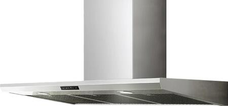 Zephyr ARC Series AEDM90ASX Wall Mount Range Hood Stainless Steel, Main Image