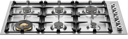 Bertazzoni Professional QB36600X Gas Cooktop Stainless Steel, 1