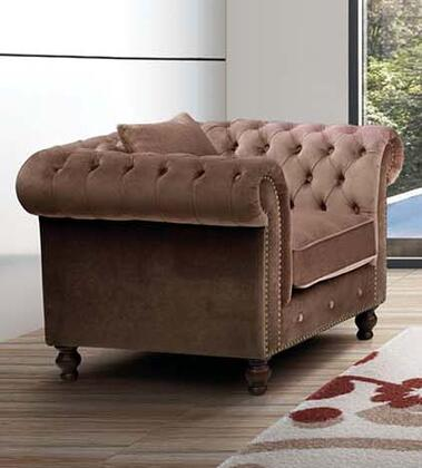 ESF 108 Series I17475 Living Room Chair Brown, Main Image