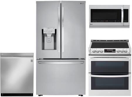 LG 1130566 Kitchen Appliance Package & Bundle Stainless Steel, main image