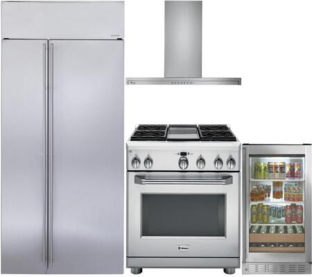 Monogram 889950 Kitchen Appliance Package & Bundle Stainless Steel, 1