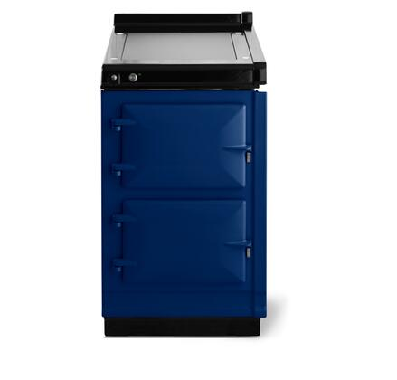 AGA Classic Hotcupboard AHCDBL Freestanding Electric Range Blue, Main Image
