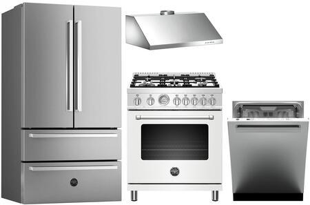 Bertazzoni 1127973 Kitchen Appliance Package & Bundle Stainless Steel, Main Image