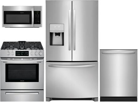 Frigidaire  997937 Kitchen Appliance Package Stainless Steel, main image