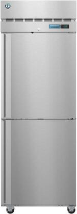 R1A-HS 28″ Steelheart Series One Section Half Door Reach-In Refrigerator with 23.1 cu. ft. Capacity  3 Adjustable Shelves  4″ Casters and LED