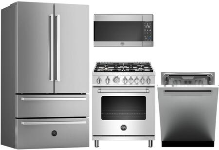 Bertazzoni 743415 Kitchen Appliance Package & Bundle Stainless Steel, main image