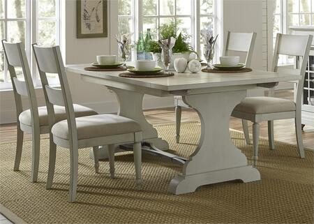 Liberty Furniture Harbor View III 731DR5TRS Dining Room Set Gray, Main Image