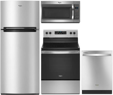 Whirlpool 910904 Kitchen Appliance Package & Bundle Stainless Steel, main image